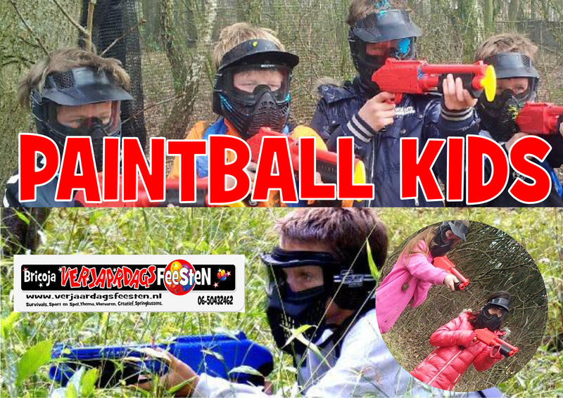 Paintball Kids 8-14 jr
