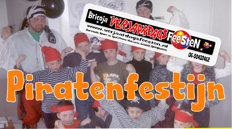 Piratenfestijn 4 – 8 jaar