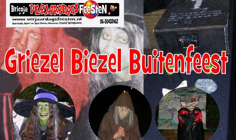 GriezelBiezel Buitenfeest DE VLOEK VAN HET BOEK..