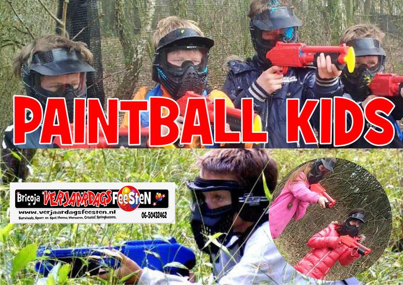 Paintball Kids 8-14 jr