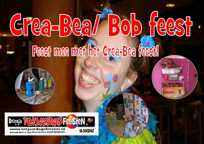 Crea- bea/ Bob feest