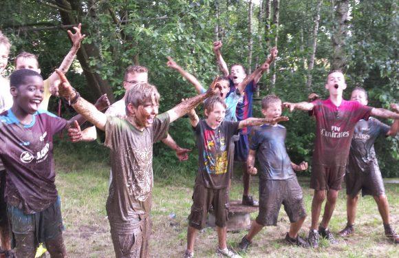 Bootcamp Mudrun Survivalfeest 7-14 jaar